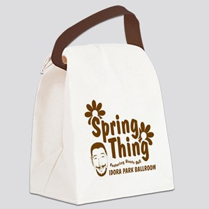 springthing Canvas Lunch Bag