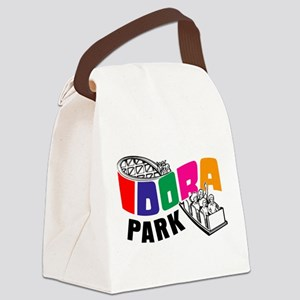 Idora Logo COLOR Canvas Lunch Bag