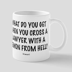 """Lawyer """"Demon"""" Mugs"""