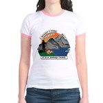 I Bought A Sheep Mountain Jr. Ringer T-Shirt