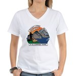 I Bought A Sheep Mountain Women's V-Neck T-Shirt