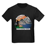 I Bought A Sheep Mountain Kids Dark T-Shirt