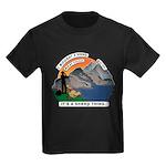 I Bought A Sheep Mountain Kids Dark T-Shirt