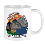 I Bought A Sheep Mountain Mug