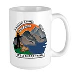 I Bought A Sheep Mountain Large Mug