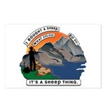 I Bought A Sheep Mountain Postcards (Package of 8)