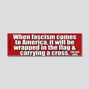 fascism-bumper2 Car Magnet 10 x 3