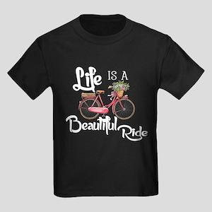 Life is Beautiful Kids Dark T-Shirt