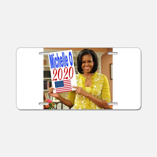 Michelle Obama Aluminum License Plate