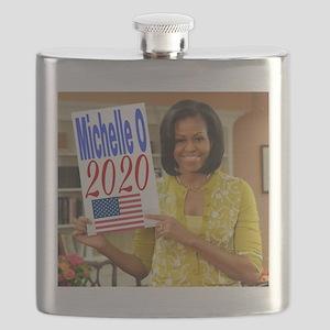 Michelle Obama Flask