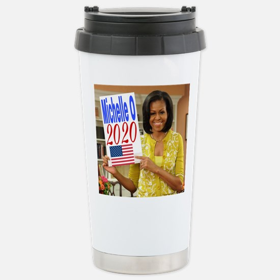Michelle Obama Stainless Steel Travel Mug