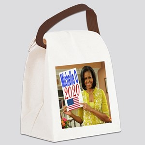 Michelle Obama Canvas Lunch Bag