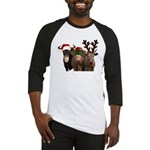 Santa & Friends Baseball Jersey