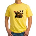 Santa & Friends Yellow T-Shirt
