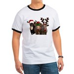 Santa & Friends Ringer T