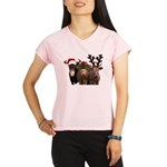 Santa & Friends Performance Dry T-Shirt