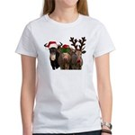 Santa & Friends Women's T-Shirt