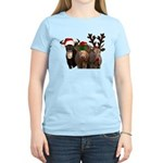 Santa & Friends Women's Light T-Shirt