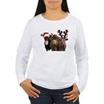 Santa & Friends Women's Long Sleeve T-Shirt