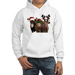 Santa & Friends Hooded Sweatshirt