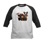 Santa & Friends Kids Baseball Jersey