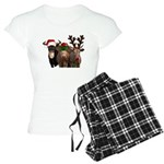Santa & Friends Women's Light Pajamas