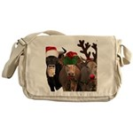 Santa & Friends Messenger Bag