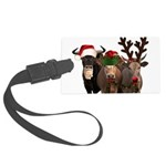 Santa & Friends Large Luggage Tag