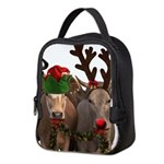 Santa & Friends Neoprene Lunch Bag