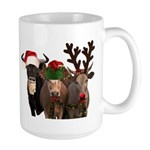Santa & Friends Large Mug