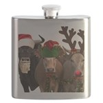Santa & Friends Flask