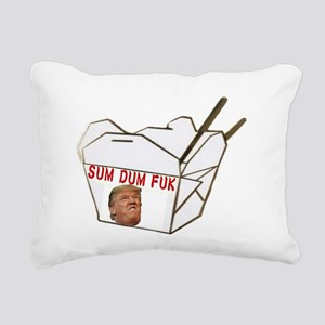 Sum Dum Fuk Rectangular Canvas Pillow