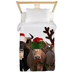 Santa & Friends Twin Duvet