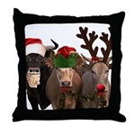 Santa & Friends Throw Pillow