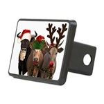 Santa & Friends Rectangular Hitch Cover