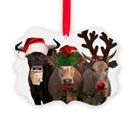 Santa & Friends Picture Ornament