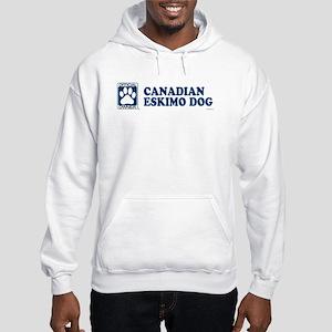 CANADIAN ESKIMO DOG Hooded Sweatshirt