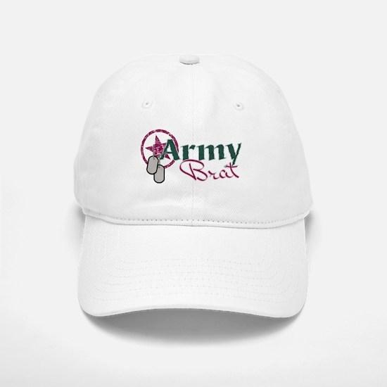 Army Brat star Baseball Baseball Cap