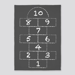 Hopscotch 5'x7'area Rug