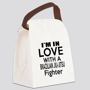 I Am In Love With Brazilian Jiu J Canvas Lunch Bag