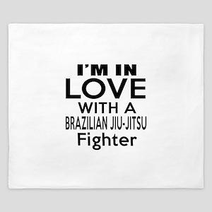 I Am In Love With Brazilian Jiu Jitsu F King Duvet