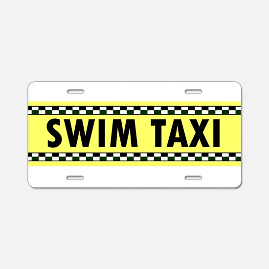 Cute Cab Aluminum License Plate