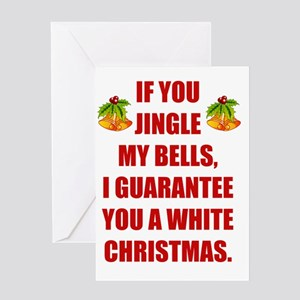 Dirty Christmas Greeting Cards - CafePress