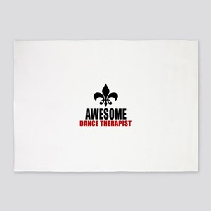 Awesome Dance therapy 5'x7'Area Rug