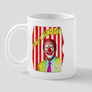 George W. Bushclown Mug