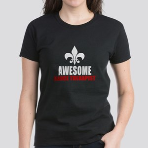 Awesome Dance therapy Women's Dark T-Shirt