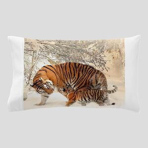 Tiger Family Pillow Case