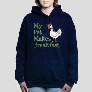 Pet Makes Breakfast Hoodie Sweatshirt