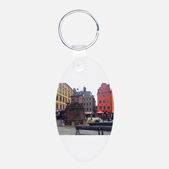 Downtime in Stockholm Keychains