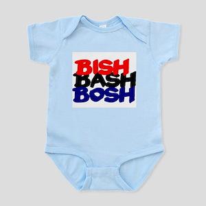 BISH BASH BOSH - RED BLACK BLUE Body Suit